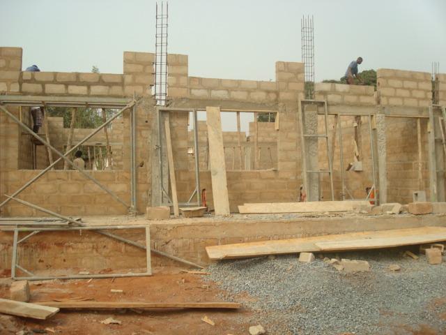 Bau der Klassenzimmer 1
