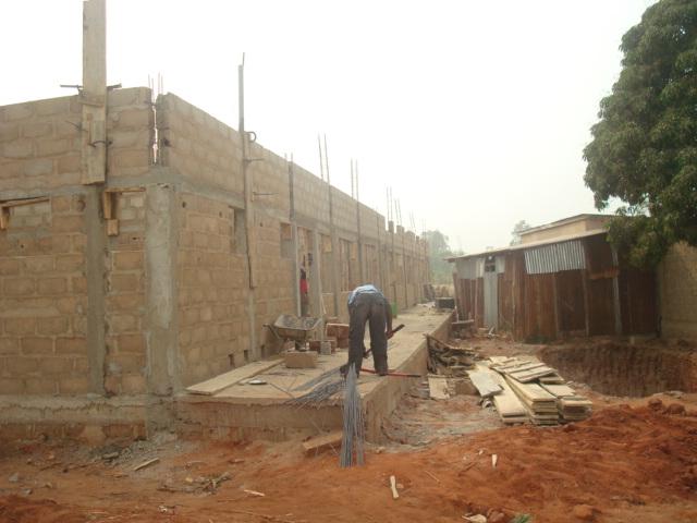 Bau der Klassenzimmer 2
