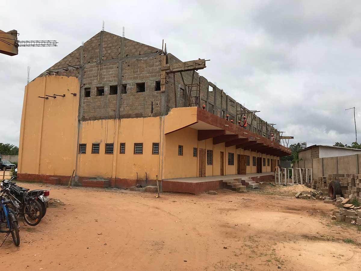 Neubau von Klassenzimmern 2019 - 2