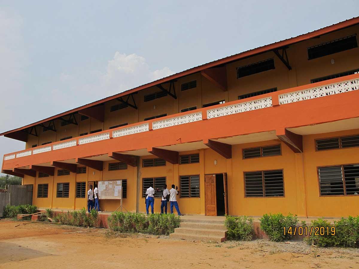 Neubau von Klassenzimmern 2019 - 4