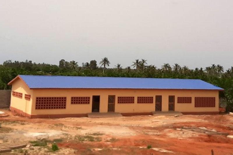 Das neue Wohnheim